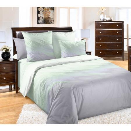 Купить Комплект постельного белья ТексДизайн «Сияние».  2-спальный. Цвет: зеленый