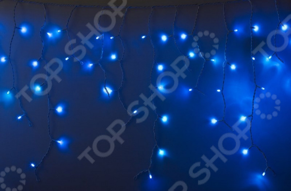Гирлянда светодиодная Neon-Night «Айсикл бахрома» с эффектом мерцания