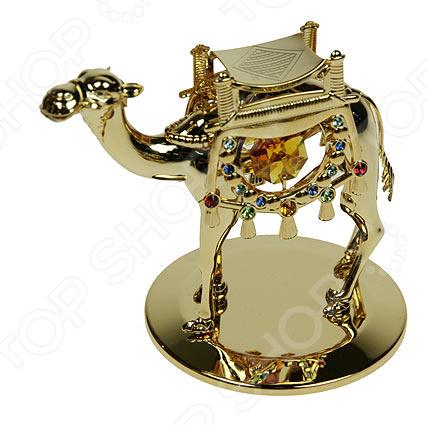 Фигурка декоративная Crystocraft «Верблюд» с кристаллами Swarovski 67577