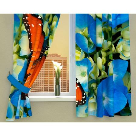 Купить Фотошторы Сирень «Бабочка в цветах»