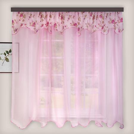 Купить Гардина легкая WITERRA «Нежность». Цвет: темно-розовый. В ассортименте