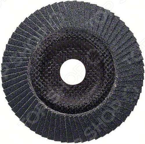 Диск лепестковый для угловых шлифмашин Bosch Prof for Metal 2608606717