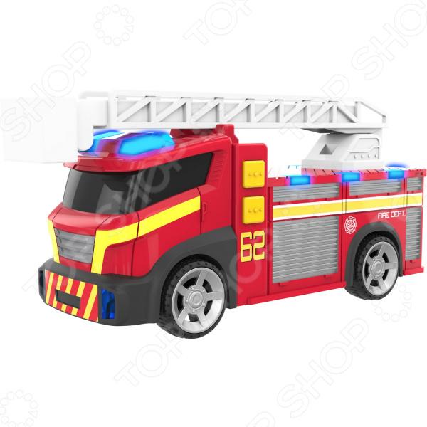 Машинка со светозвуковыми эффектами HTI «Пожарная машина» вытяжка каминная kuppersberg f w610 b черный управление сенсорное 1 мотор