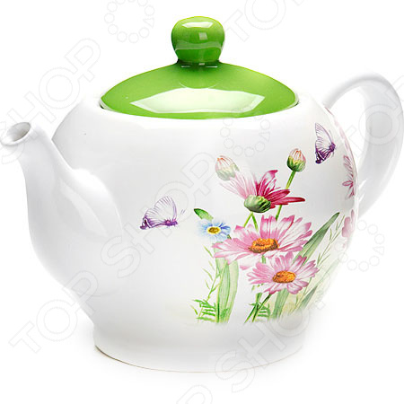 Чайник заварочный Loraine LR-26241 «Цветы»