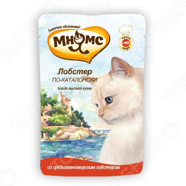 Корм влажный для кошек Мнямс «Лобстер по-каталонски»