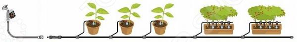 Комплект микрокапельного полива Gardena Базовый с таймером комплект микрокапельного полива gardena базовый page 3
