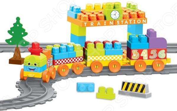 Игровой набор-конструктор Dolu «Моя первая железная дорога». Количество элементов: 89 шт Игровой набор-конструктор Dolu «Моя первая железная дорога». Количество элементов: 89 шт /
