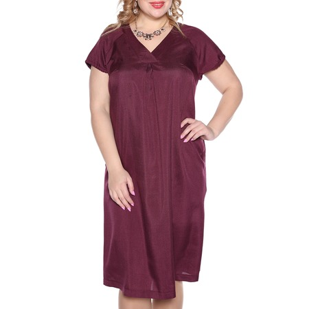 Купить Платье Prima Linea «Изящная». Цвет: бордовый