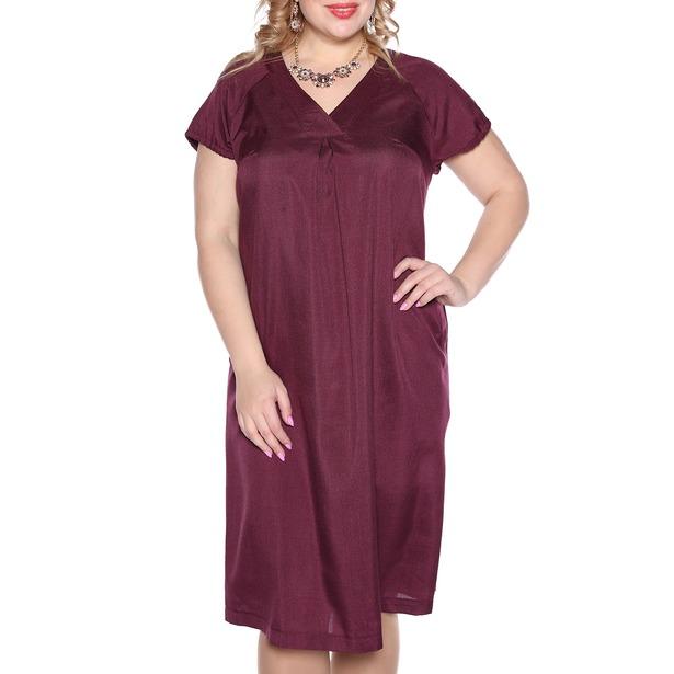 фото Платье Prima Linea «Изящная». Цвет: бордовый