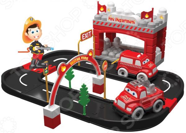 Игровой набор Terides «Пожарная станция». Количество предметов: 52 шт