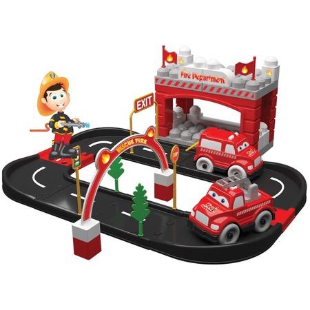 Купить Игровой набор Terides «Пожарная станция». Количество предметов: 52 шт