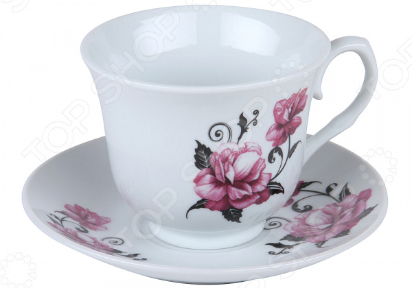Чайная пара Rosenberg «Цветок»
