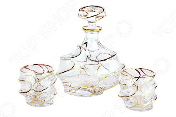Набор подарочный для виски Коралл «Ренессанс голд» GM13679-3-GP Набор подарочный для виски Коралл «Ренессанс голд» GM13679-3-GP /