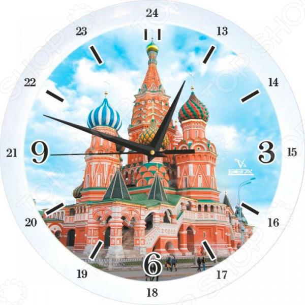 Zakazat.ru: Часы настенные Вега П 1-7619/7-78 «Василий Блаженный»