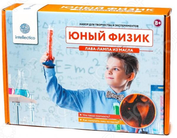 Набор для опытов Intellectico «Юный Физик. Лава-лампа из масла»