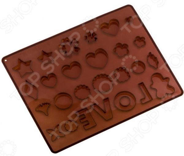 Форма для льда и шоколада Agness 710-349