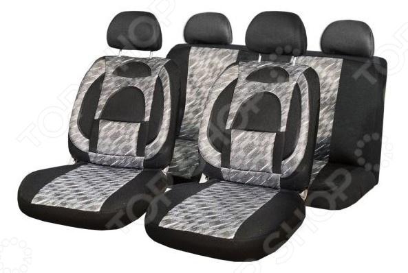 Комплект чехлов на сиденья автомобиля SKYWAY Protect Plus-7