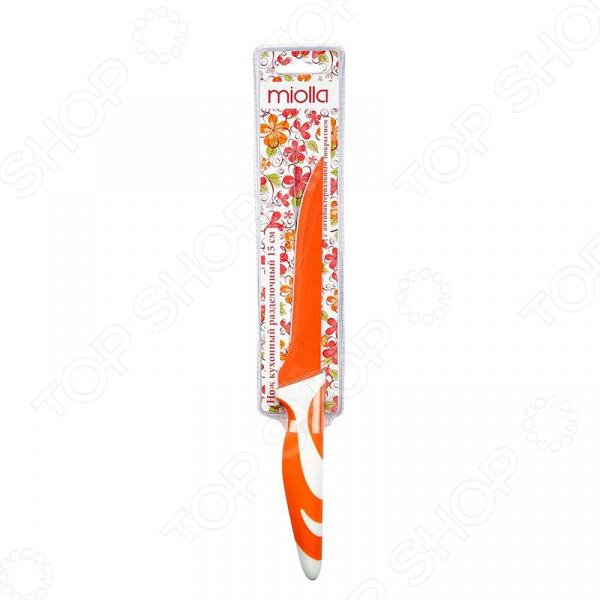 Нож Miolla разделочный «Оранжевый»