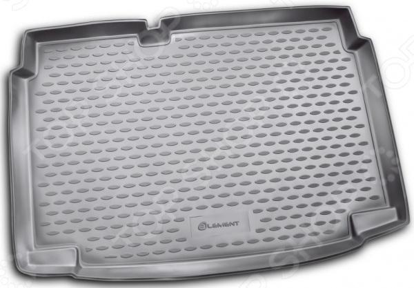 Коврик в багажник Element Volkswagen Polo V, 2009, хэтчбек (нижний) комплект дефлекторов vinguru накладные скотч для volkswagen polo v 3d 2009 хэтчбек 4 шт