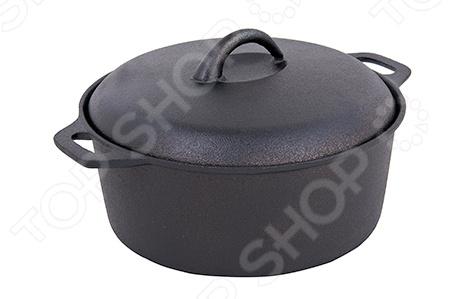 Кастрюля с крышкой Myron Cook HEA25 кастрюли myron cook кастрюля чугунная эмалированная с крышкой 3 0 литра