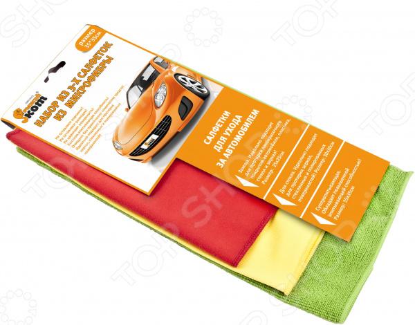 Набор салфеток для автомобиля Energy CMFS-02/3