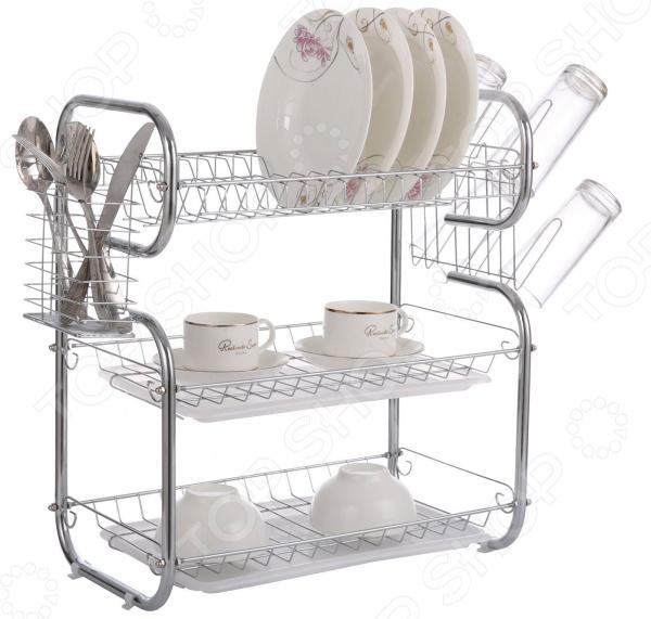 Сушилка для посуды Bohmann BH-7326 сервер сушилка для посуды и столовых приборов в кор 6 шт flower pow