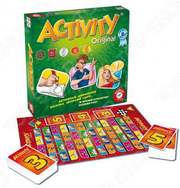 Игра настольная Piatnik Activity 2 «Юбилейное издание» настольные игры piatnik activity для детей издание 2015г