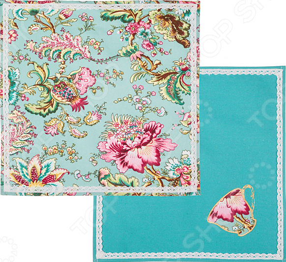 Набор салфеток Santalino «Райский сад» 850-818-4 сидушка на стул santalino райский сад 850 818 5
