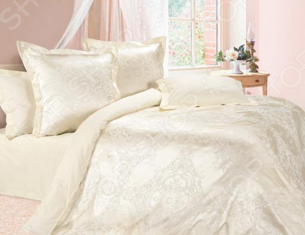 Комплект постельного белья Ecotex «Нимфа». Евро постельное белье ecotex постельное белье шоколад