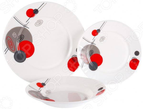 Набор столовый Rosenberg RGC-100004 набор суповых тарелок rosenberg rgc 325004