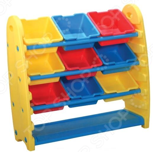 Система для хранения игрушек King Kids KK_TB1500. В ассортименте столик king kids сэнди с системой хранения мелочей цвет зеленый kk km 1200 g