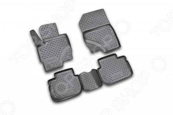 Комплект ковриков в салон автомобиля Novline-Autofamily Mitsubishi Colt 5D 2009