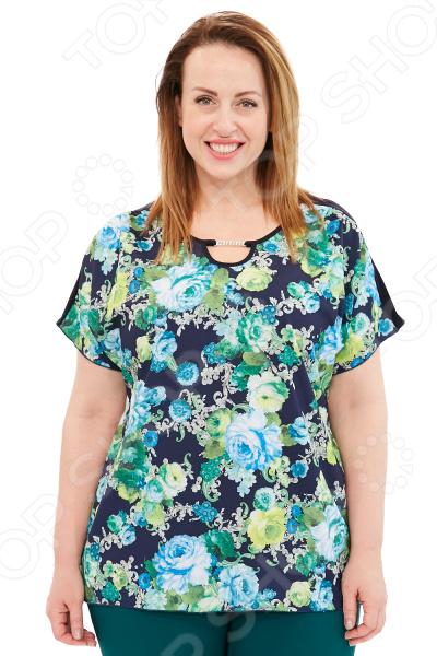 Туника Лауме-Лайн «Адэль». Цвет: зеленый туника paola klingel цвет зеленый