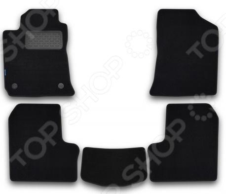 Комплект ковриков в салон автомобиля Novline-Autofamily Audi A6 2004. Цвет: бежевый - фото 9