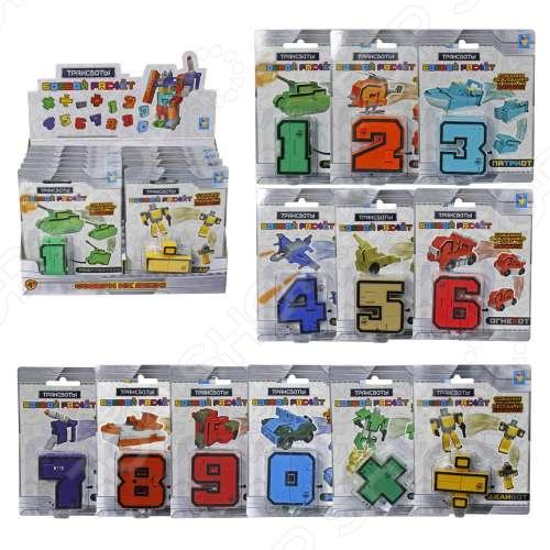 Игрушка-трансформер 1 Toy «Боевой расчёт». В ассортименте развивающая игрушка rubbabu лягушка 10 см в ассортименте