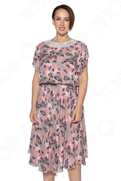 Платье Pretty Woman «Сердечная женщина». Цвет: пудровый платье pretty woman прелестная женщина цвет зеленый