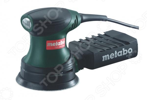 Машина шлифовальная эксцентриковая Metabo FSX 200 Intec эксцентриковая шлифмашина metabo fsx 200 intec 240вт 125мм 609225500