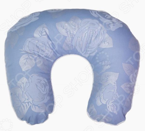 Подушка ортопедическая для шеи Био-Текстиль «Подкова. Розы» подушка ортопедическая для шеи био текстиль подкова