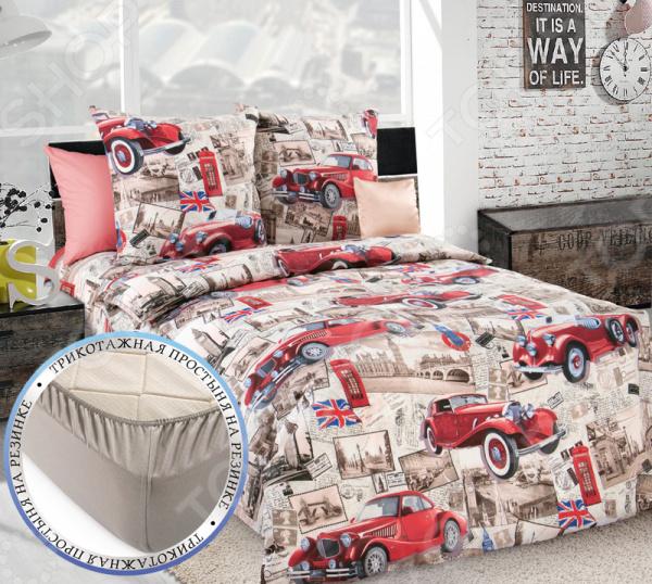 Детский комплект постельного белья ТексДизайн «Ретро»