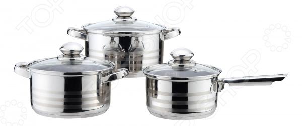 Набор посуды Mallony Praktisch набор кастрюль mallony pks6 01w
