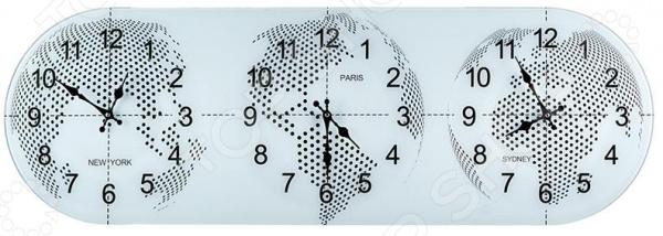Часы настенные с мировым временем Lefard 44-237 Lefard - артикул: 1863545