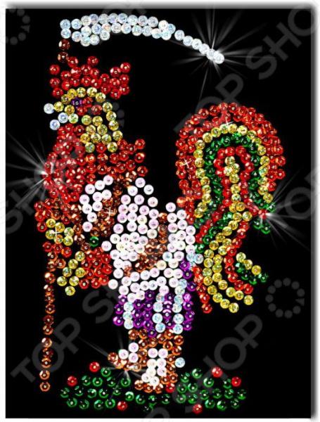 Набор для создания мозаики Волшебная мастерская «Петушок» Набор для создания мозаики Волшебная мастерская «Петушок» /