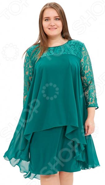 Платье Pretty Woman «Небесная красота». Цвет: зеленый
