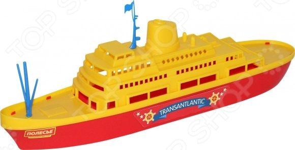 Игрушка для ванны детская POLESIE «Трансатлантик» игрушка полесье корабль чайка 36964