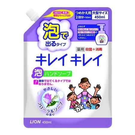Купить Запасной блок с жидким мылом для рук Lion с цветочным ароматом