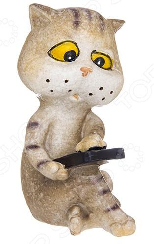 Фигурка декоративная Elan Gallery «Котик с телефоном»