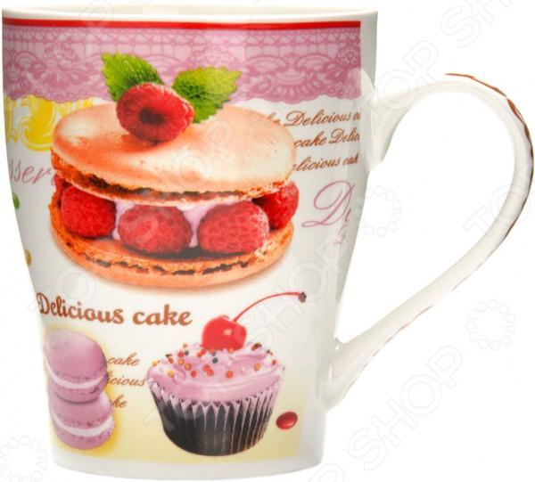 Кружка Loraine «Десерт» 26588-1 кружка loraine десерт 340 мл 26588