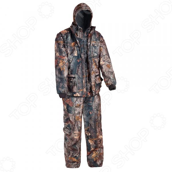 Костюм для охоты и рыбалки Huntsman «Тайга-3». Рисунок: темный лес