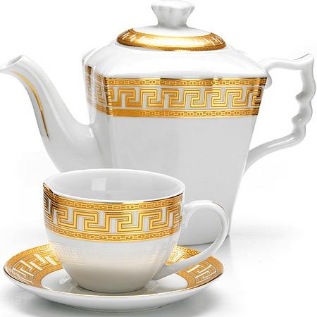Купить Сервиз чайный «Афродита». Количество предметов: 13