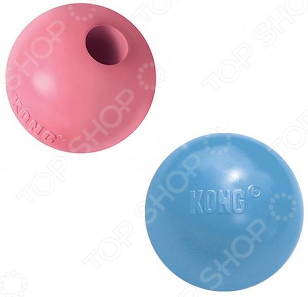 Игрушка для щенков Kong Puppy «Мячик». В ассортименте трикси игрушка для собак щенок 8 см латекс цвет в ассортименте